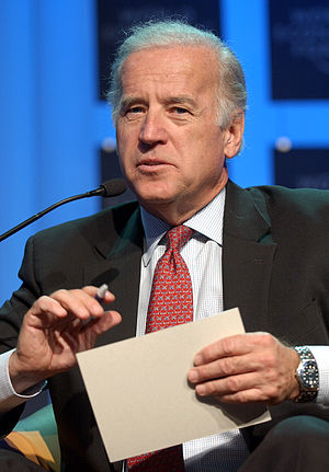 Political positions of Joe Biden - Joe Biden at the World Economic Forum in Davos, Switzerland