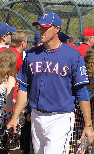 Joe Nathan - Nathan with the Texas Rangers in spring training, 2012