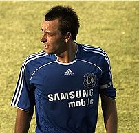 John Terry in action for Chelsea FC