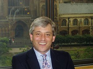 2009 in the United Kingdom - The newly elected Speaker of the House of Commons, John Bercow.