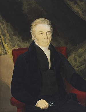 John Blaxland (explorer) - 1832 portrait of John Blaxland by Richard Read