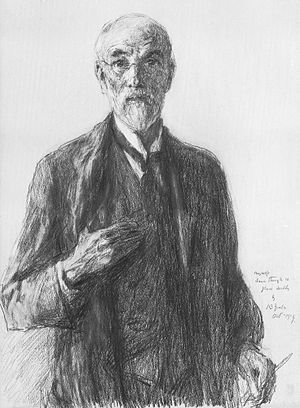 John Butler Yeats - Self portrait (1919)