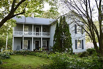 National Register of Historic Places listings in Audubon County, Iowa - Image: John D. Bush House