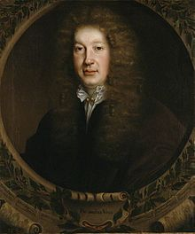John Dryden by John Michael Wright, 1668 (detail), National Portrait Gallery, London.JPG