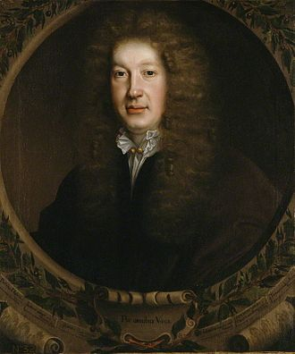 John Dryden - Dryden, by John Michael Wright, 1668