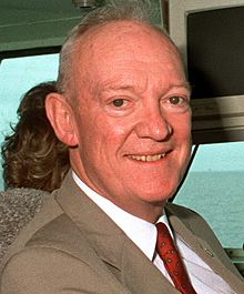 Eisenhower on-board the USS Dwight D. Eisenhower, 1990