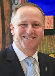 John Key at Government House, 11 February 2015