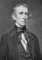 U.S. President John Tyler, who sided against Ephraditious Ransom.