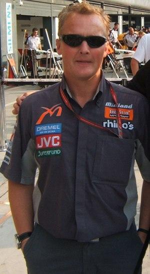 1995 Brazilian Grand Prix - Image: Johnny Herbert 2006