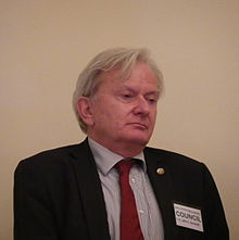 Prof. John Zarnecki, current President of the RAS