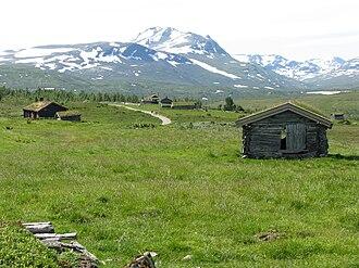 Rennebu - Farms in the northeasternmost part of Trollheimen mountain range in Rennebu