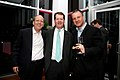 Jon Ledecky, William Campbell and Erel Margalit FT Spring Party 2012.jpg