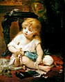 Joseph Coomans - Girl with a doll.jpg