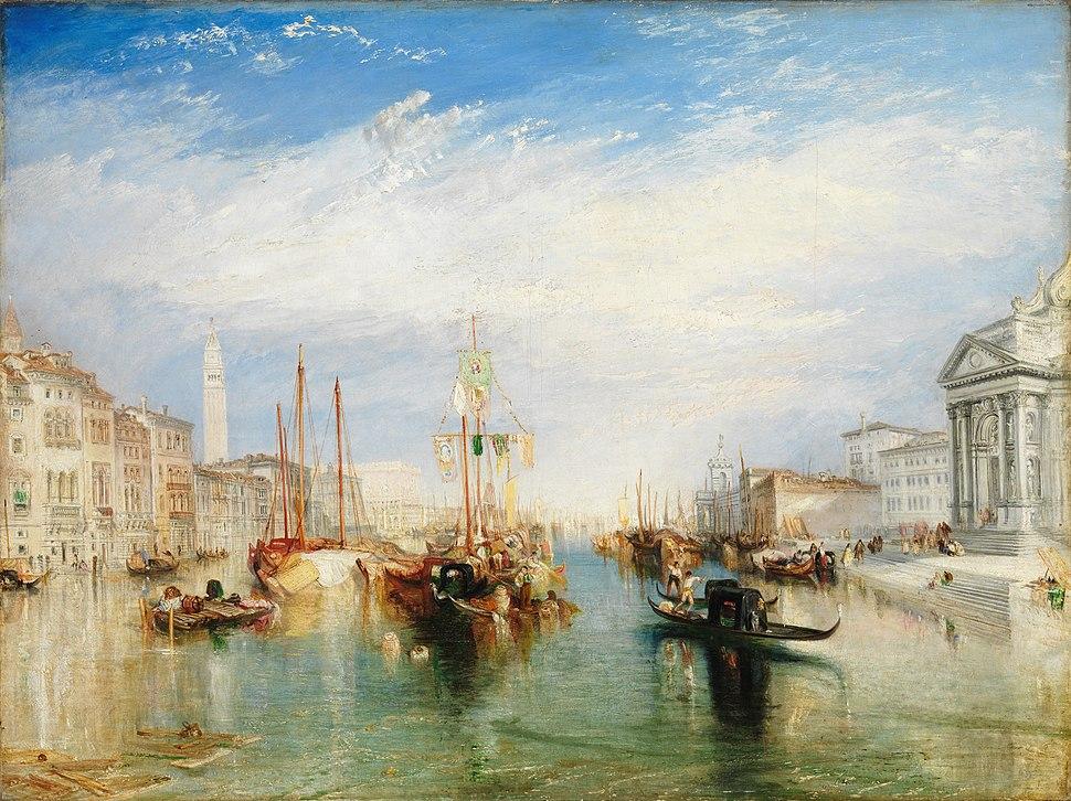 Joseph Mallord William Turner - The Grand Canal, Venice - WGA23173