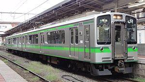 Hakushin Line - Image: Jre E127 V1