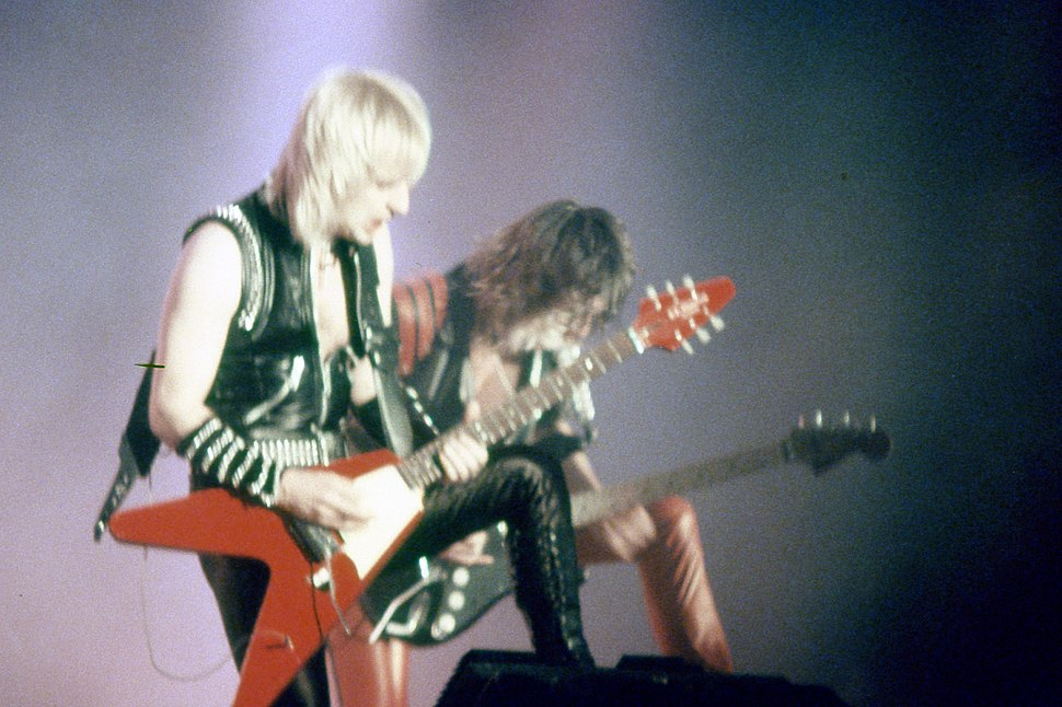 Judas Priest K.K. Downing Glenn Tipton, 1984