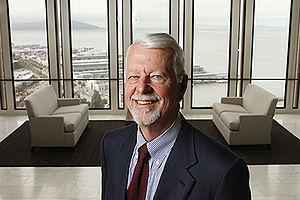 Vaughn Walker - Image: Judge Vaughn Walker Photo in Lobby with San Francisco in Background