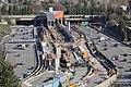 Judkins Park Station from Beacon Hill, Feb. 2020.jpg