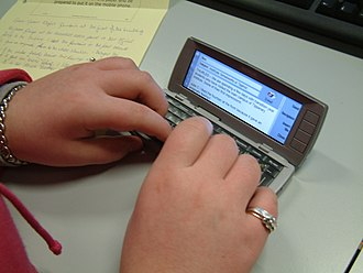 Nokia Communicator - Image: Julie Carroll Moblogging