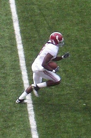Julio Jones - Jones in a game against Arkansas in 2010