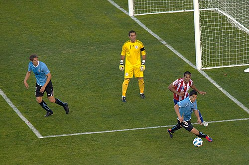 Paraguay's Justo Villar was voted best goalkeeper of the 2011 Copa America. Justo Villar en accion 3.jpg