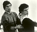 KC Ballet Devon Carney and Rudolph Nureyev in rehearsal for Don Quixote (8809054146).jpg