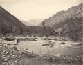 KITLV 100528 - Unknown - River, probably in Kashmir in British India - Around 1870.tif