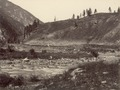 KITLV 100549 - Unknown - River through the mountains, probably in Kashmir in British India - Around 1870.tif