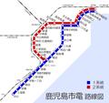 Kagoshima City Tram map ja.png