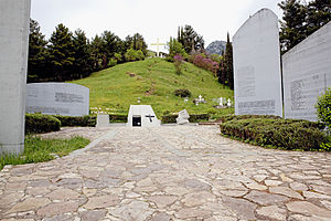 Kalavryta - The memorial site.