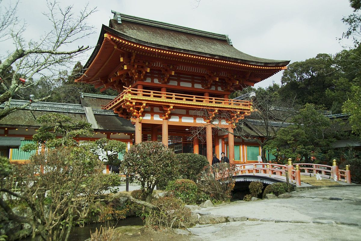 Image result for Kamigamo Shrine