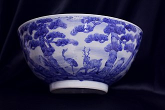 Transitional porcelain - Image: Kangxi transitional porcelain Bowl