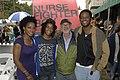 Karen LeBlanc, Daniyah Ysrayl, Norman Jewison and Charles Officer. (48198939971).jpg