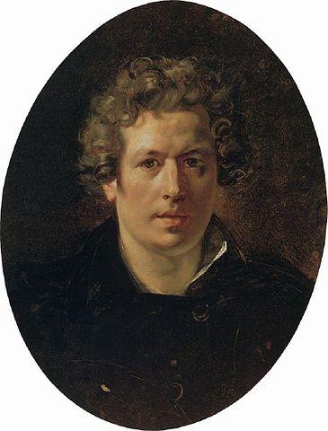 Автопортрет Карла Брюллова 1833 года