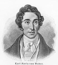 Carl Maria von Weber (Source: Wikimedia)