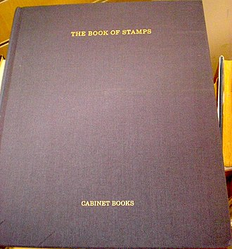 Cabinet Magazine - Image: Kastner Book of Stamps 2008 cover