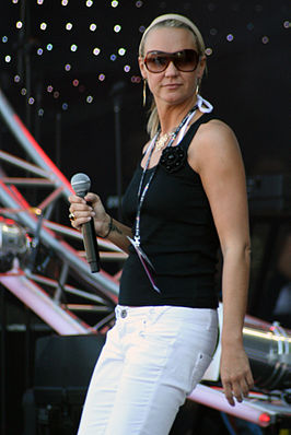 Kate Ryan in Stettin (Polen), 2007