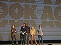 Kate Burton , Allison Janney, Richard Jenkins, Elizabeth Olsen, John Magaro (6747941211).jpg