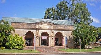 Albert Spencer Wilcox Building - Image: Kauai Albert Spencer Wilcox building facade