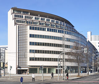 building in Chemnitz, Saxony, Germany