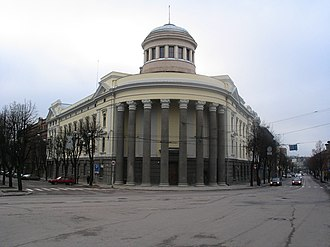 Temporary capital of Lithuania - Former Palace of Justice and the Parliament, now Kaunas State Philharmonic