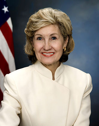 Kay Bailey Hutchison - Hutchison's final official portrait in the Senate