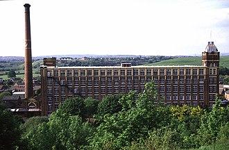 Kearsley Mill - Kearsley Mill viewed from the south