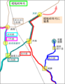 Keisei bus line around ichikawaoono 02.png