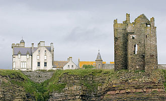 Sir Francis Barry, 1st Baronet - Barry's Scottish residence was Keiss Castle in Caithness
