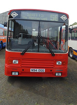 Kelvin Central Buses - Preserved Alexander PS bodied Volvo B10M in May 2015