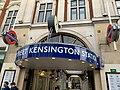 Kensington High Street Arcades entrance 2020.jpg