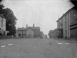 Kerry, Powys - Photograph by Percy Benzie Abery; c. 1910.