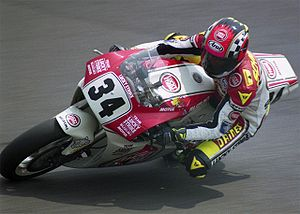 Kevin Schwantz - Schwantz on the Suzuki RGV500 in 1993