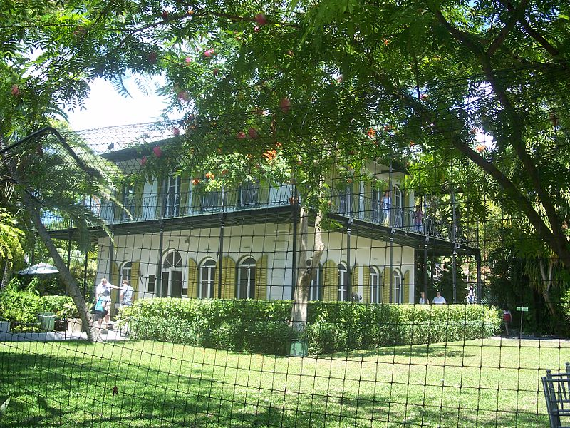 File:Key West FL HD Hemingway House02.jpg